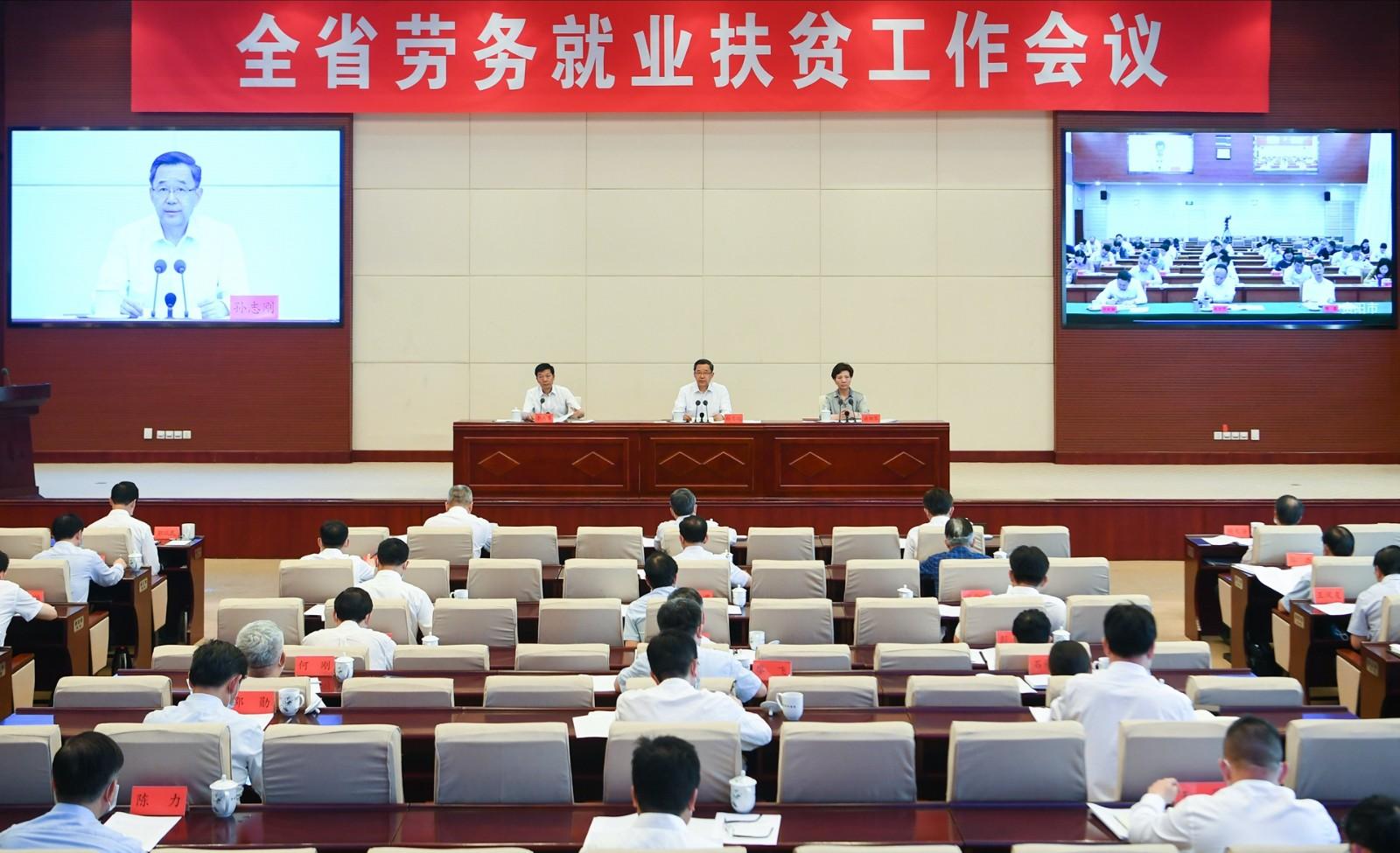 孙志刚:内外并重多措并举确保重点群体充分就业坚决按时高质量打赢脱贫攻坚战